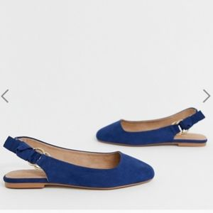 Wide Fit Valletta ballet flats